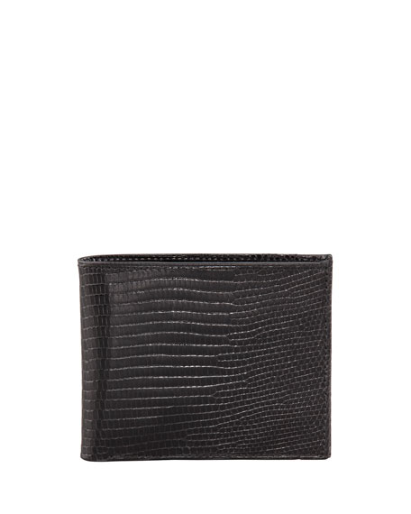 Lizard Slim Wallet, Black