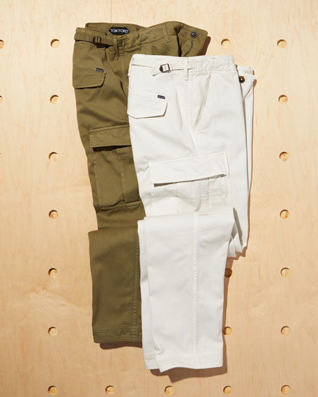 Cargo Pants w/ Oversized Pockets