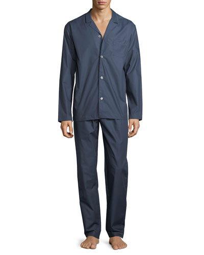 Henry Long-Sleeve Chambray Pajamas