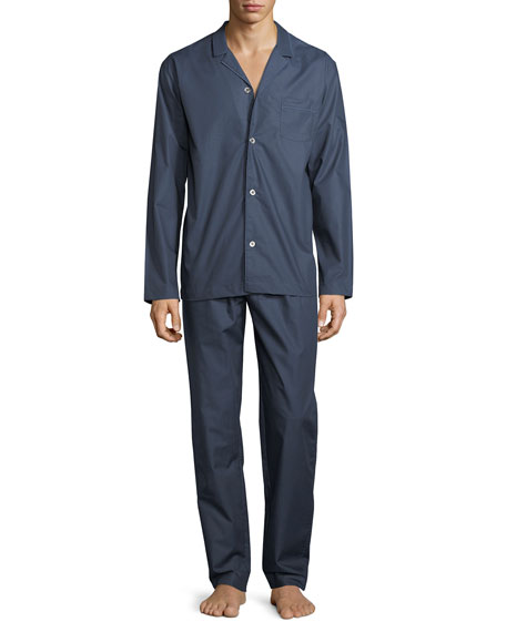 Henry Long-Sleeve Chambray Pajamas