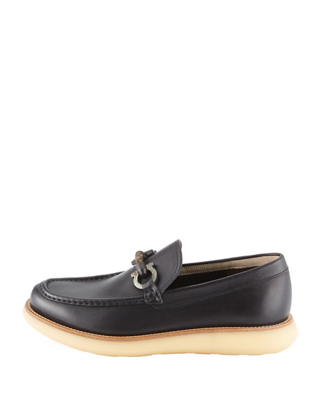 Men's Carmine Rope-Gancini Crepe-Sole Loafer