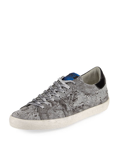Men's Glitter Star Low-Top Sneakers