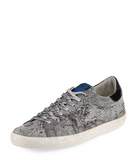 Golden Goose Men's Glitter Star Low-Top Sneaker