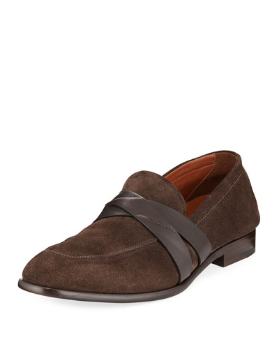 Mocassino Suede Penny Loafer