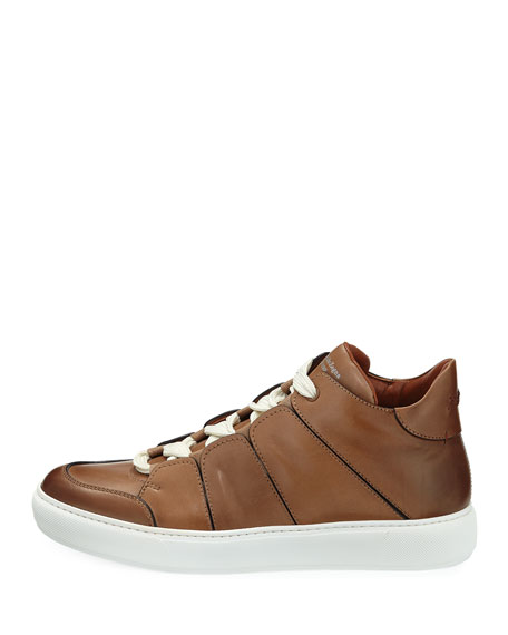 Tiziano Leather Low-Top Sneaker