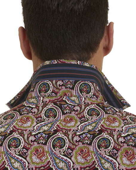Woodstock Paisley Sport Shirt