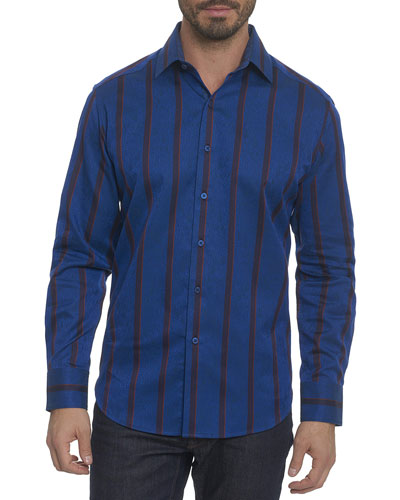 Grandby Striped Sport Shirt