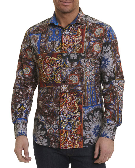 Koster Patchwork Paisley Shirt