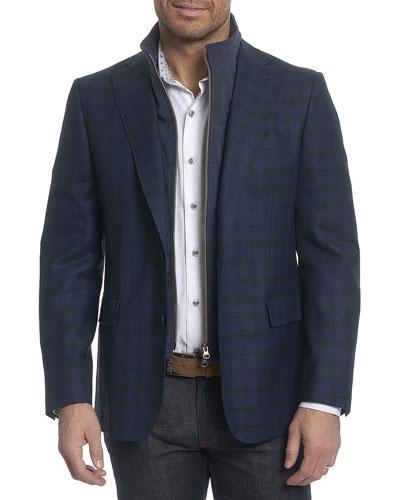 Saranac Plaid Sport Coat