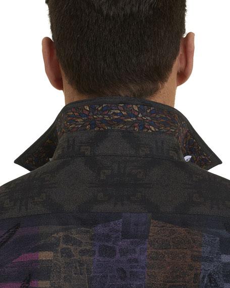 Mark Time Button-Down Shirt