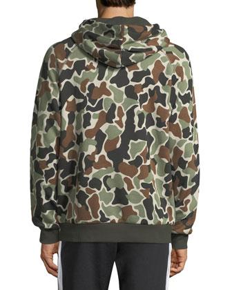 brand new bb997 b99d6 Camo Hoodie Sweatshirt w/ Logo