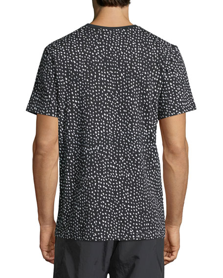 NMD Dot-Print T-Shirt w/ Zip Pocket