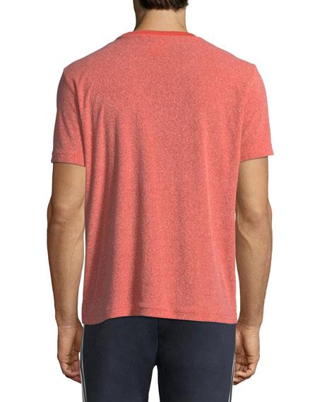 NMD Heathered T-Shirt w/ Zip Pocket