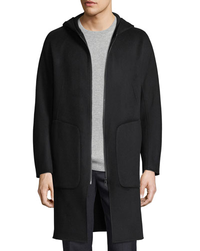 Double-Faced Wool Duffle Coat
