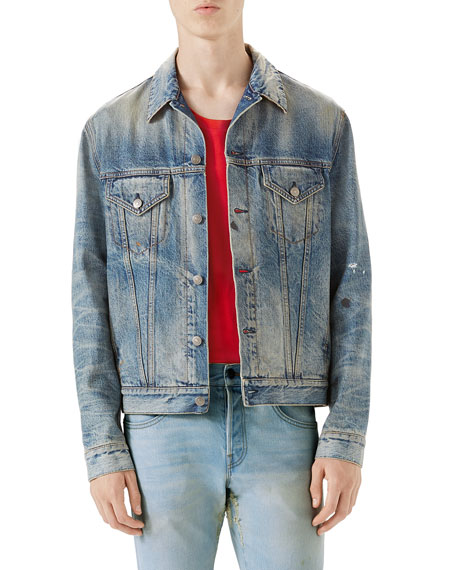Gucci Punk Denim Jacket