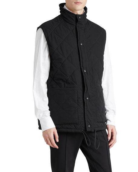 Burberry Tartan Check Reversible Quilted Gilet : quilted gilet - Adamdwight.com