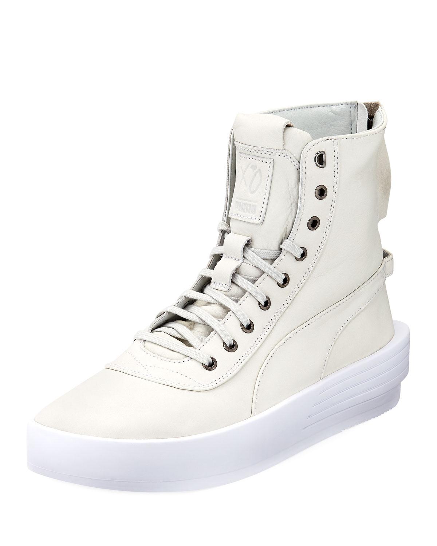 Puma Weeknd x XO Parallel Men s High-Top Sneaker  84e6a9904
