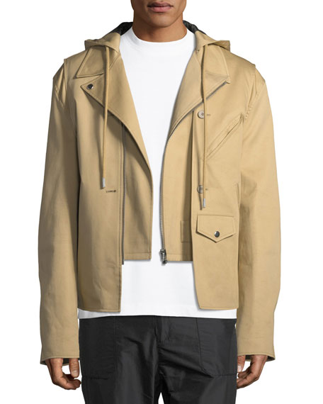 Buildout Twill Moto Jacket