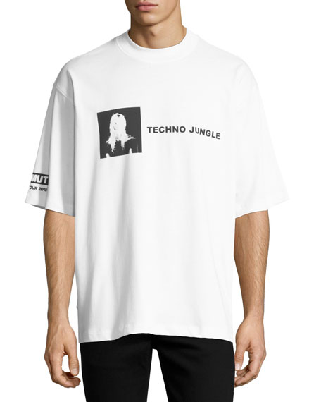 Helmut Lang Techno Jungle Graphic Tee