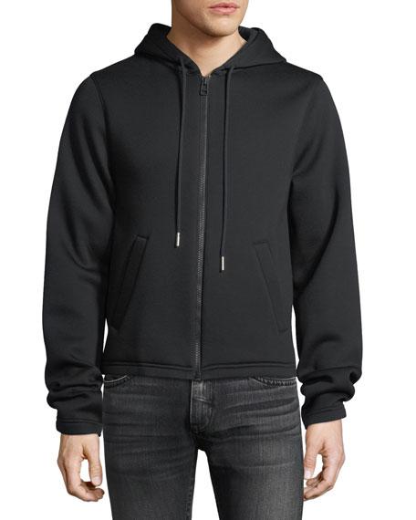 Long-Sleeve Zip-Front Hoodie