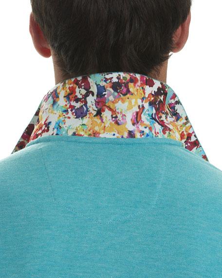 Messenger Heather Polo Shirt