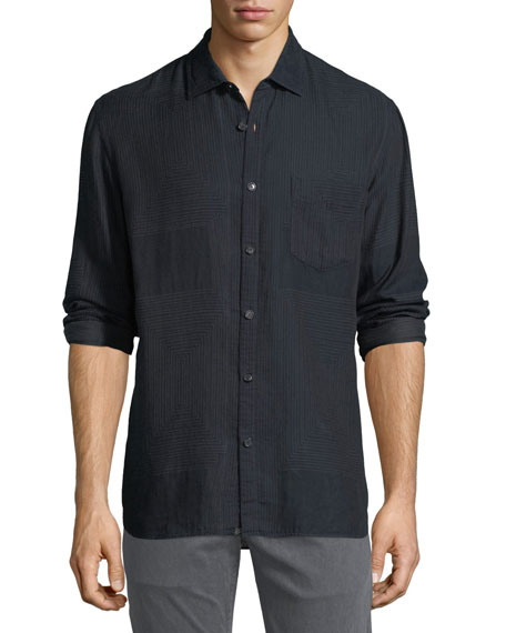 Billy Reid John T Cotton Sport Shirt