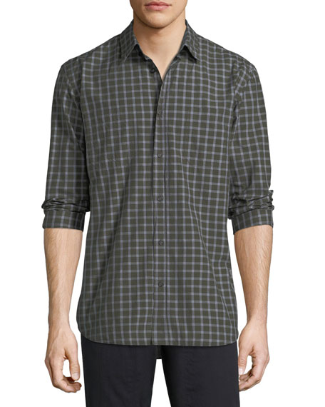 Billy Reid Randall Check-Print Sport Shirt