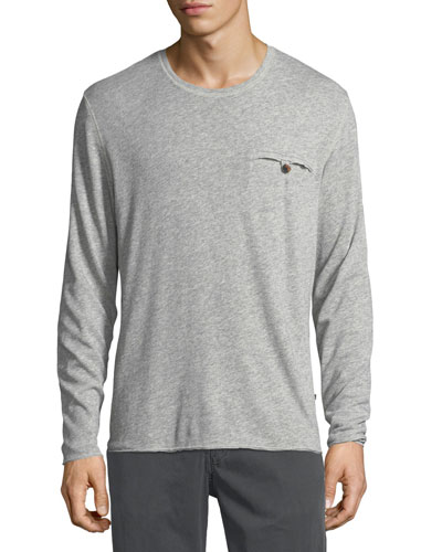 Besom-Pocket Long-Sleeve T-Shirt