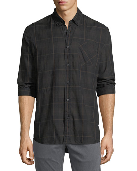 Billy Reid Wallace Plaid Sport Shirt