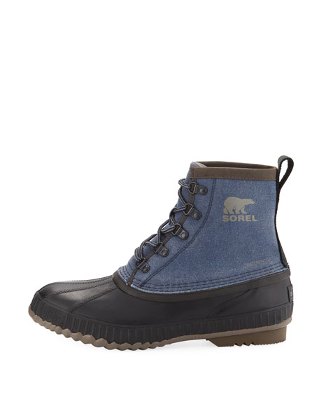 Cheyanne II Canvas Lace-Up Duck Boot