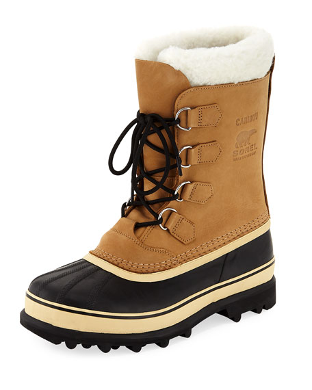 Sorel Caribou Shearling-Lined All Weather Duck Boot