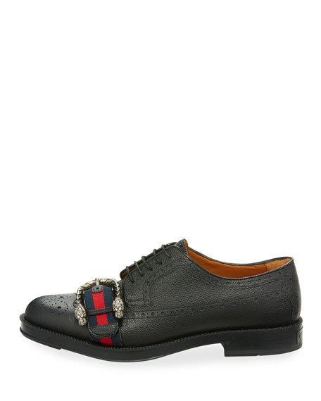Beyond Tag Buckle Lace-Up Shoe