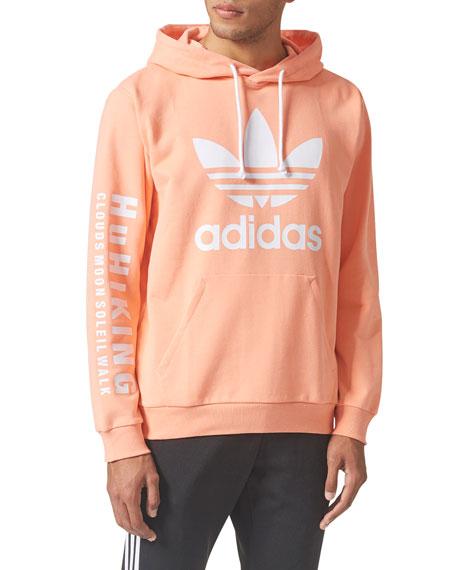 Adidas Cotton-Blend Trefoil Hoodie