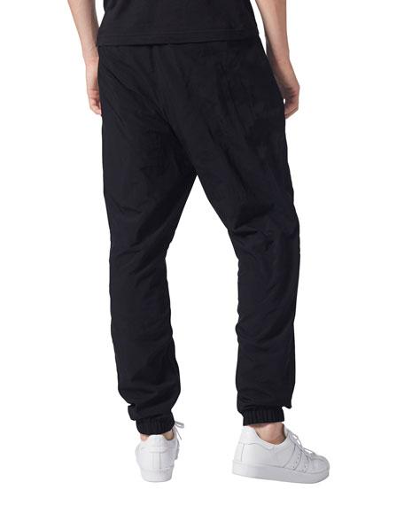 Solid Nylon Track Pants
