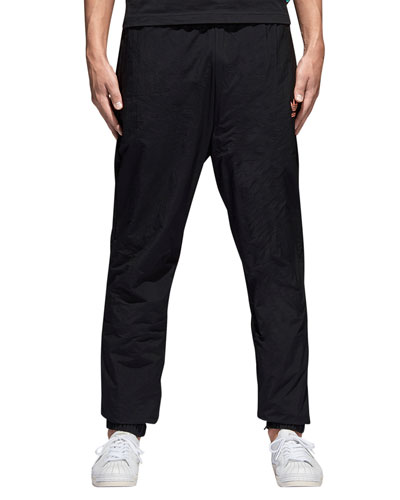 Solid Nylon Track Pants