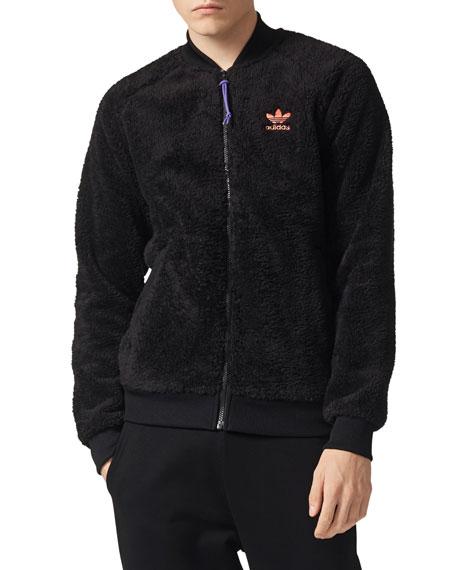 Fleece Zip-Front Jacket