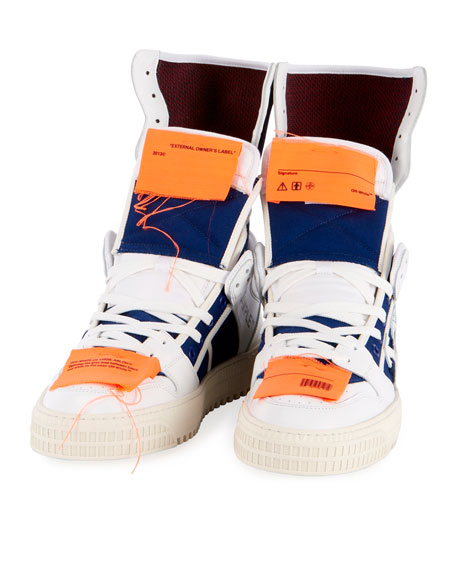 Men's High 3.0 Leather High-Top Sneakers