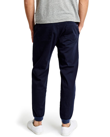 Essential Twill Jogger Pants