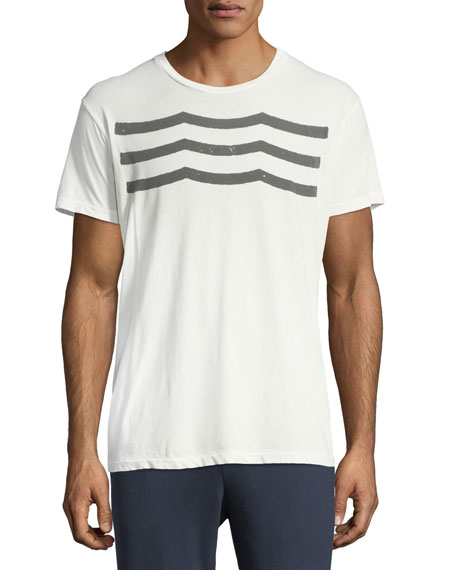 Sol Angeles Waves Graphic Cotton T-Shirt