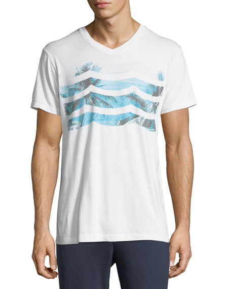 Sol Angeles Vista Del Mar Waves-Graphic T-Shirt