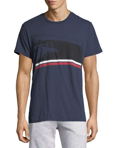 Groove Pocket Cotton T-Shirt