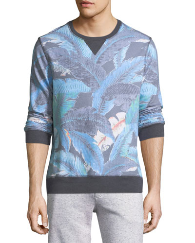 Lanai Leaf Pullover Sweater