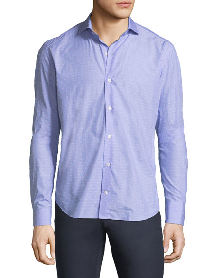 CULTURATA TAILORED FIT SOFT TOUCH FIL COUPE SPORT SHIRT