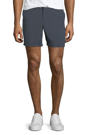 Orlebar Brown Men's Bulldog Sport Shorts, Black