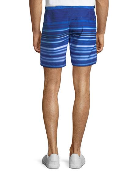 Bulldog Planetary Striped Sport Shorts