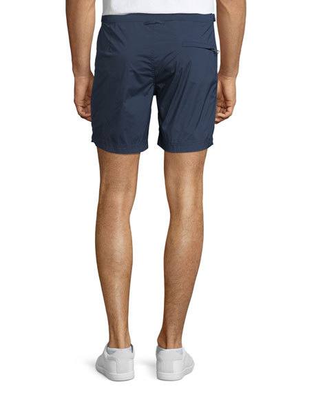 Bulldog Sport Swim Trunks, Navy