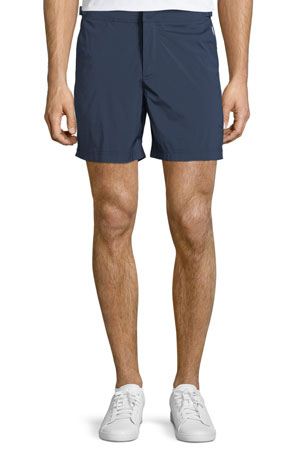Orlebar Brown Bulldog Sport Swim Trunks, Navy