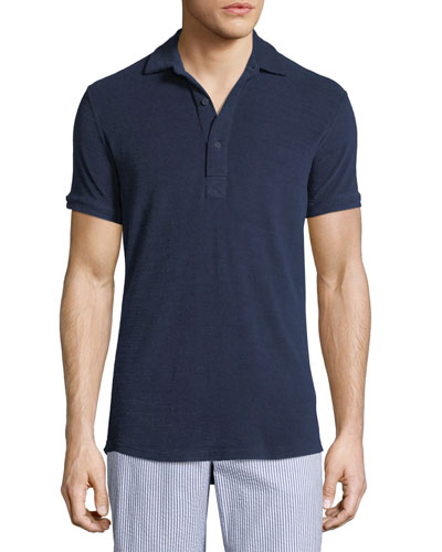 Sebastian Terry Cloth Polo Shirt