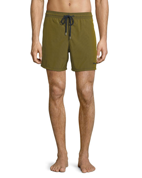 Morio Micro-Rayures Swim Trunks