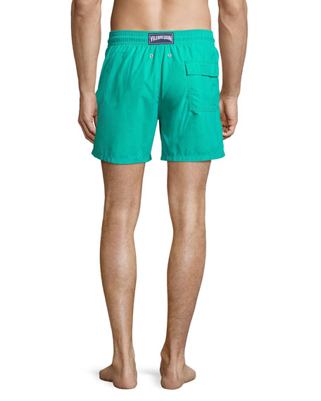 Moorea Sardine Water Reactive Swim Trunks
